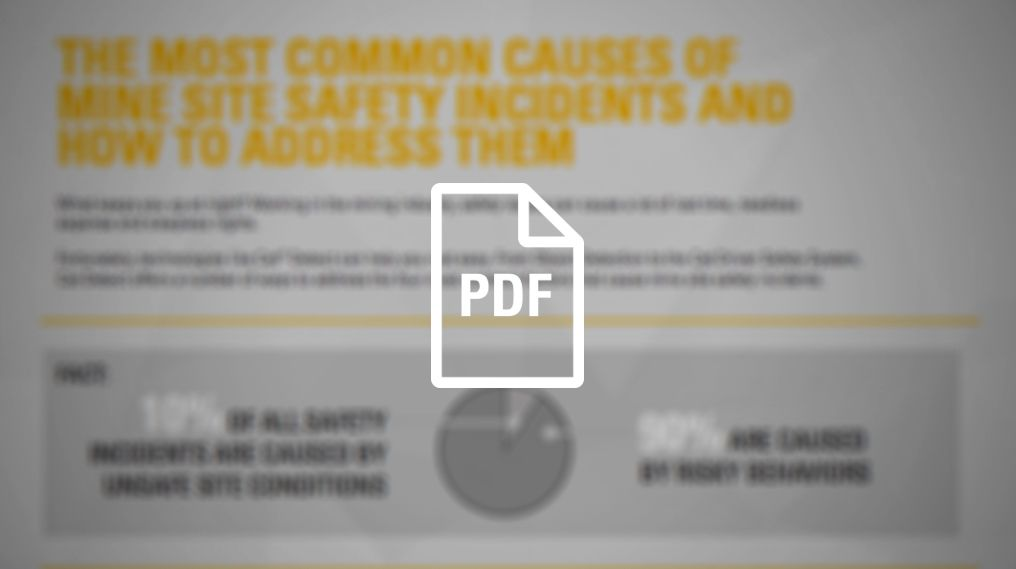 Common Causes of Mine Site Safety Incidents