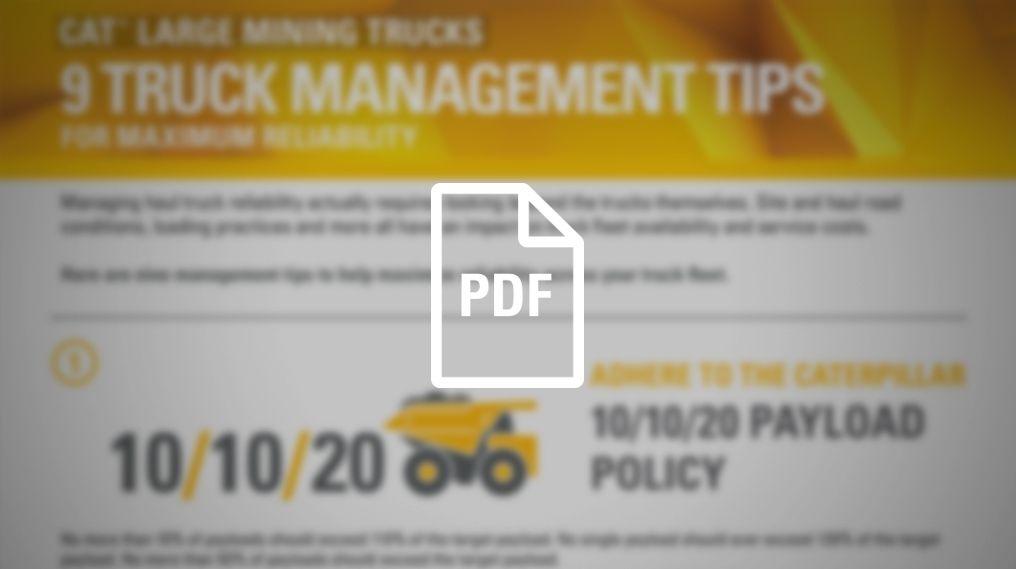 Nine Truck Management Tips
