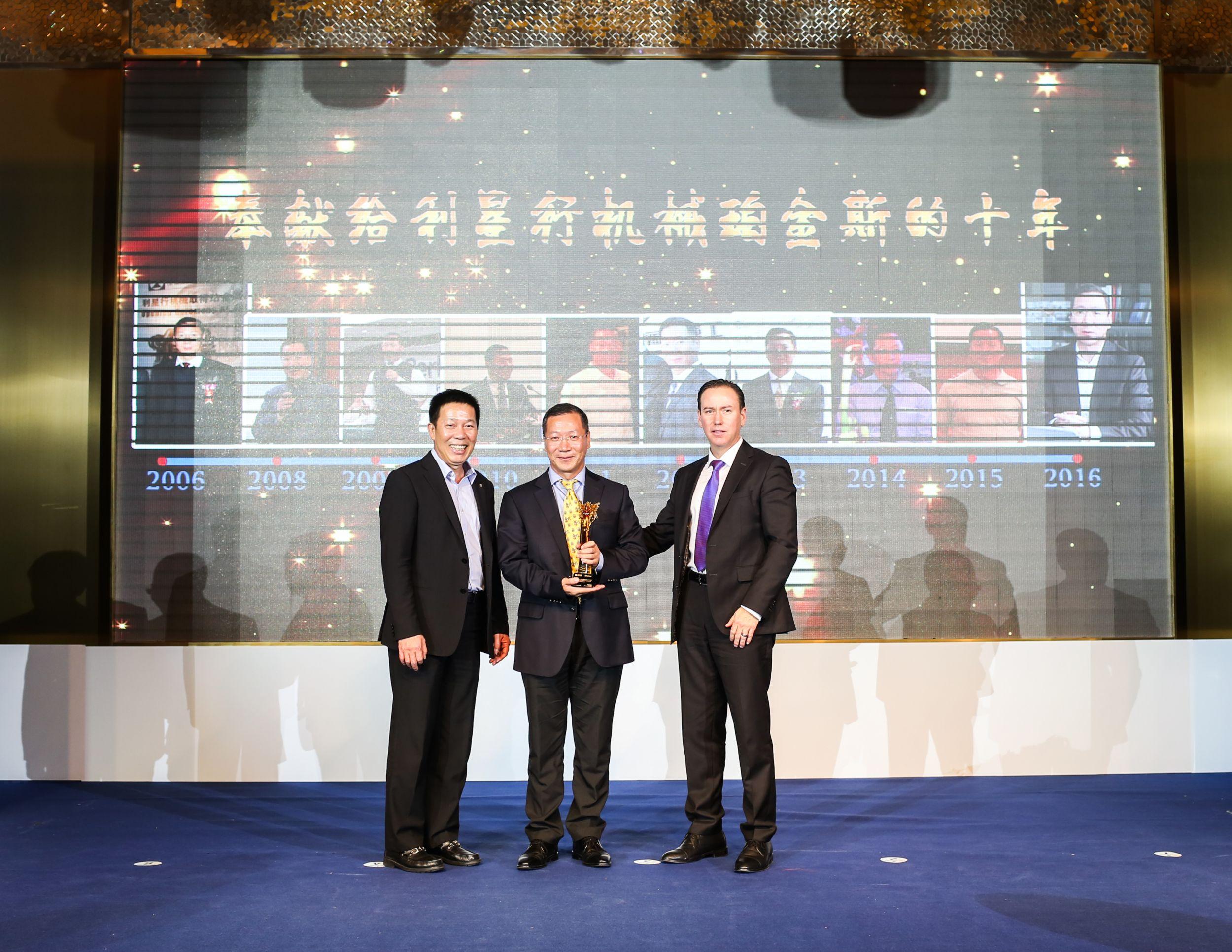 Lei Shing Hong Machinery celebrates 10 years as a Perkins distributor in China