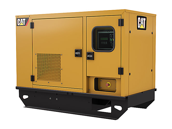 Cat c1 1 generator set to diesel for Generator sizing for motors