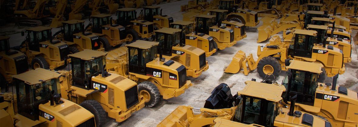 Cat Used and Certified Used Construction & Heavy Equipment
