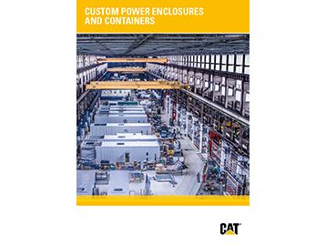 Custom power enclosures and containers