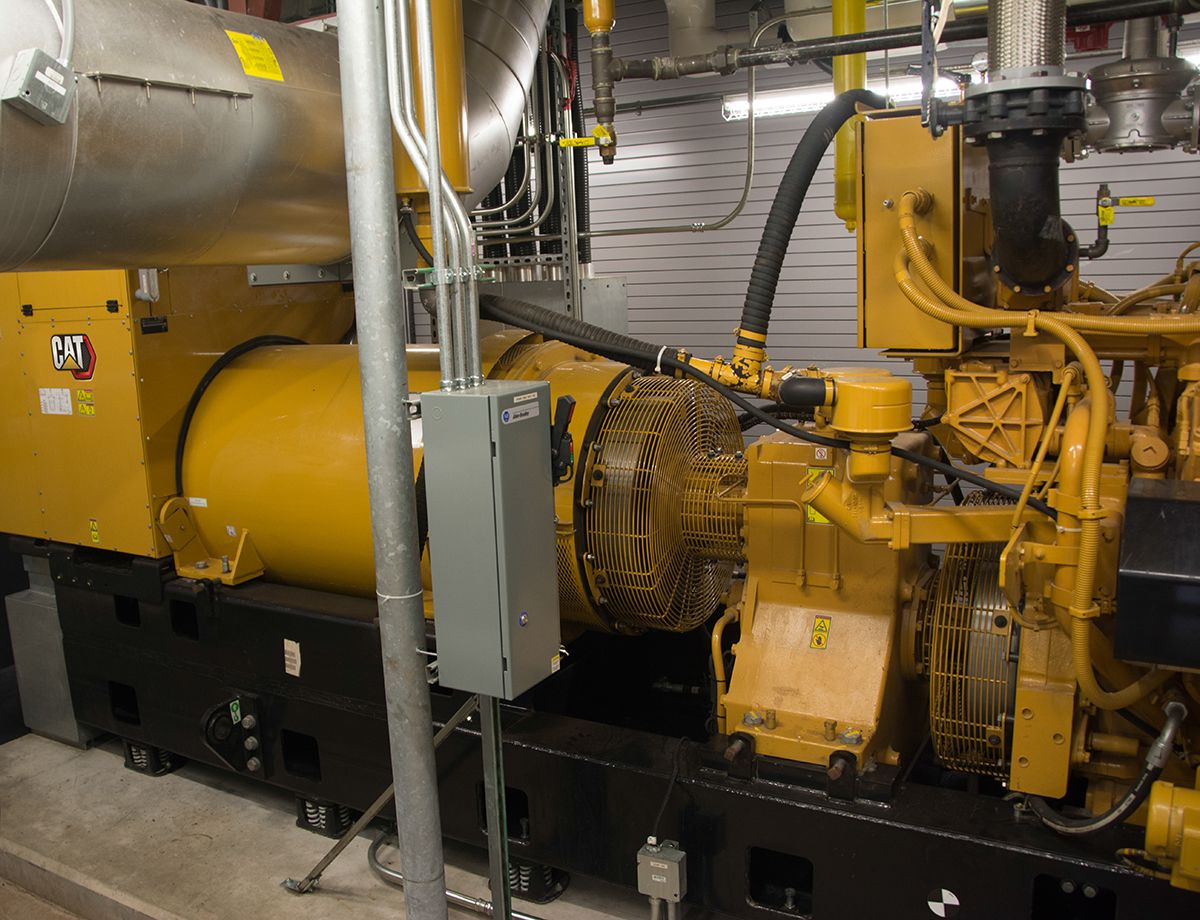With a priority need for high-efficiency generator set that could meet emissions reduction levels, the CHP system and the G3516H was a great fit for UM UCMC.