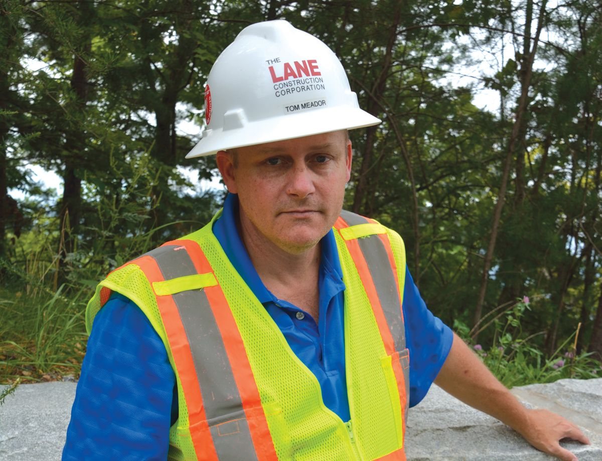 """When it comes to our choice of Cat equipment, it's really a matter of reliability. If we have an issue up here, the mountain is very unforgiving. So having dependable equipment is vital."" – Tom Meador, Lane Construction Corporation Construction Manager"