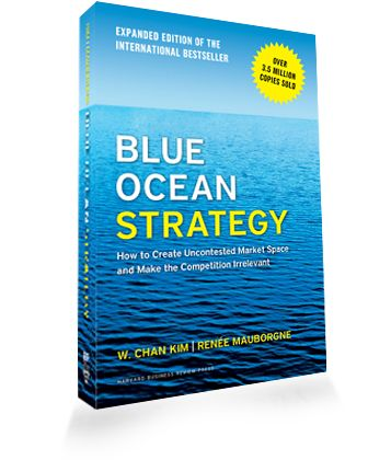 Our Caterpillar team found value in the Blue Ocean Strategy book when developing our strategic approach to the dredging industry.