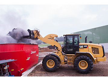 Cat® Small Wheel Loaders