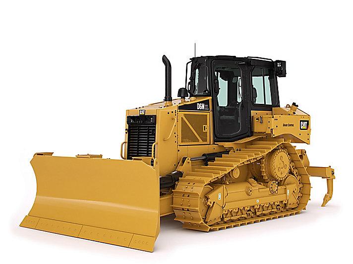 Tractor topador mediano D6N