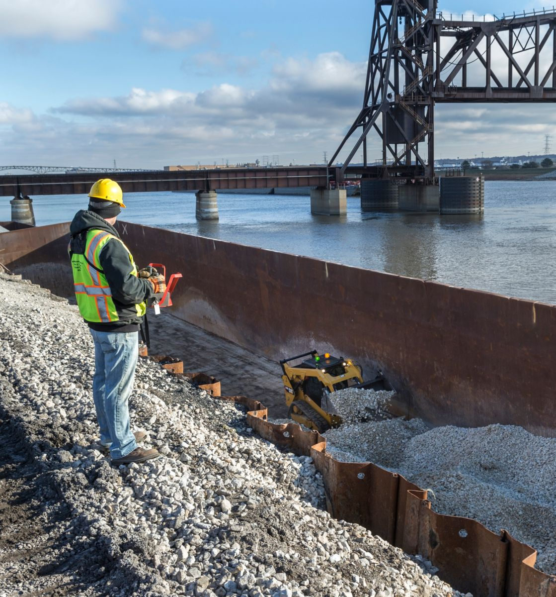 Applications such as paving, demolition, trenching, chemical handling and law enforcement become safer with the RemoteTask™ remote control system.