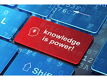 knowledge is power keyboard