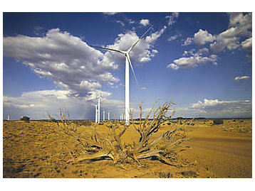63-MW wind-power project in Dry Lake, Ariz.