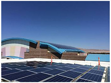 275-kW rooftop photovoltaic (PV) installation
