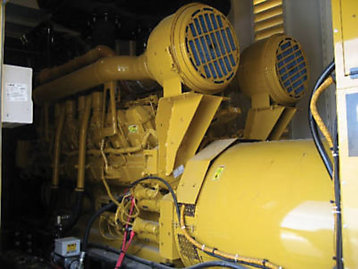 Diesel-powered generators, such as the unit in this photo, provide a steady supply of high-quality power and superior performance for transient or fluctuating power demands due to the high-torque characteristics of diesel engines.