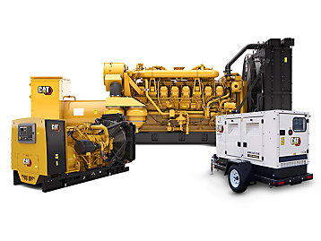 G3520C Natural Gas Generator Set used in fort knox