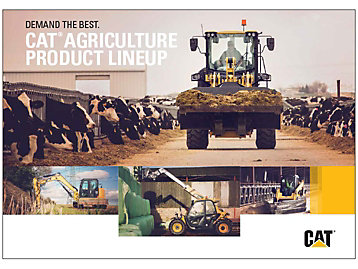 Cat Agriculture Product Lineup Brochure