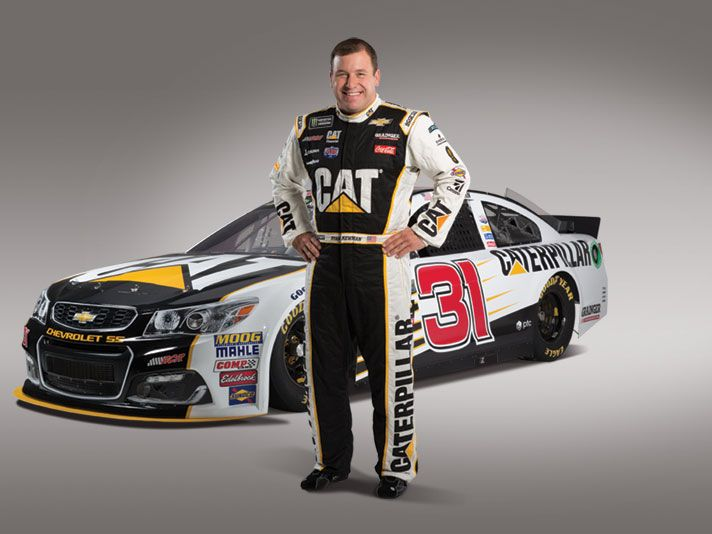 Ryan Newman and Car #31