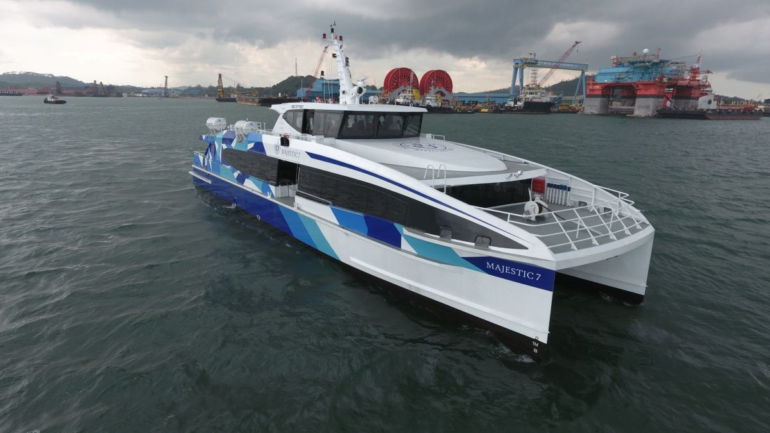 Majestic Fast Ferry Pte Ltd choose Perkins to power generators