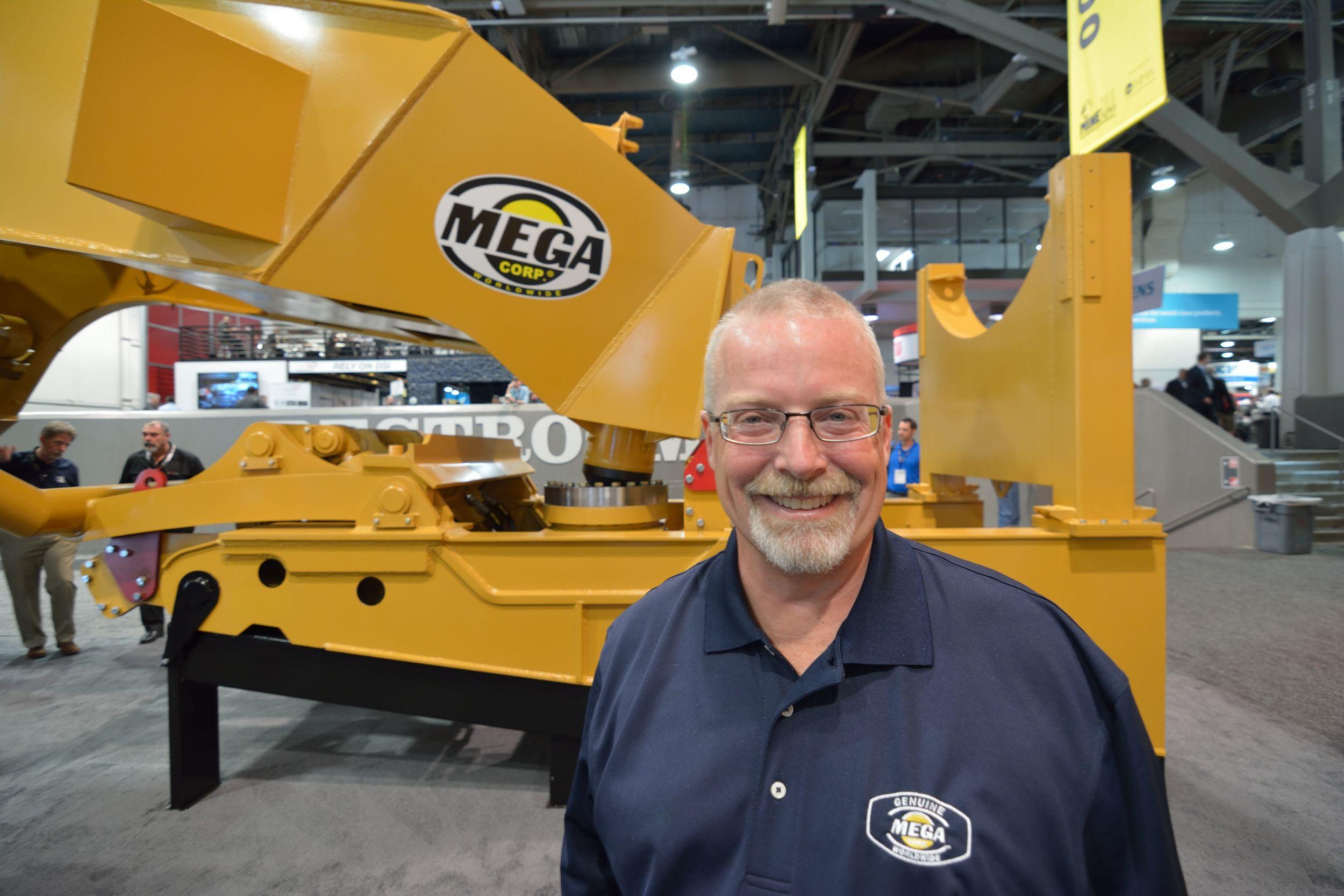 Jim Kunz, President of Mega Corp.