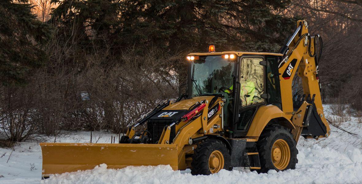 Winter and equipment maintenance