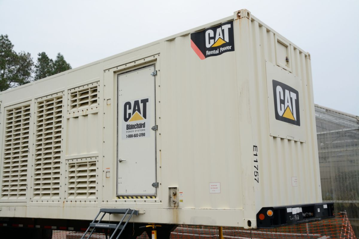 Following the storm, the City of Kinston operations center ran on standby generator power for at least 24 hours straight until power could be restored