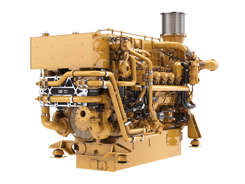 3516E Marine Propulsion Engine (U.S. EPA Tier 4 Fi