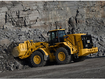 Construction Material Company Relies On Cat® 986K, Cat Technology