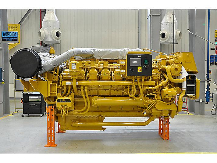 卡特彼勒天津工厂投产船用3500发动机和发电机组