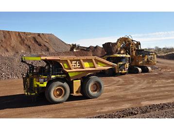 Tecnología autónoma para camiones mineros