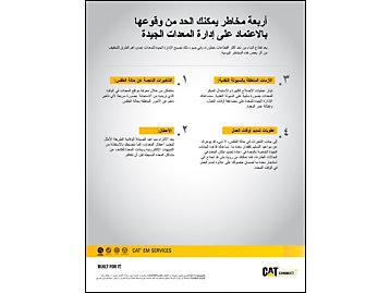 4 مخاطر يمكنك الحد من وقوعها بالاعتماد على الإدارة الجيدة للمعدات.