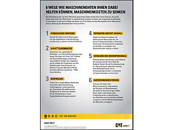 6 Wege wie Maschinendaten Ihnen Dabei Helfen Können, Maschinenkosten zu Senken