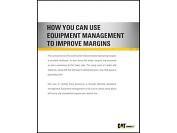 How You can use Equipment Management to Improve Margins