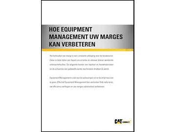 Hoe Equipment Management uw Marges Kan Verbeteren