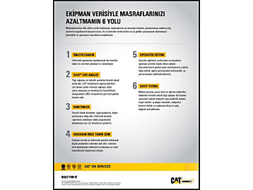 Ekipman Verilerinin Ekipman Maliyetlerini Düşürmenize Yardımcı Olabileceği 6 Alan