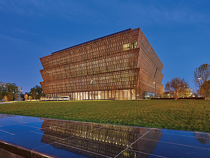 The Smithsonian National Museum of African American History and Culture opened on the National Mall in September 2016.