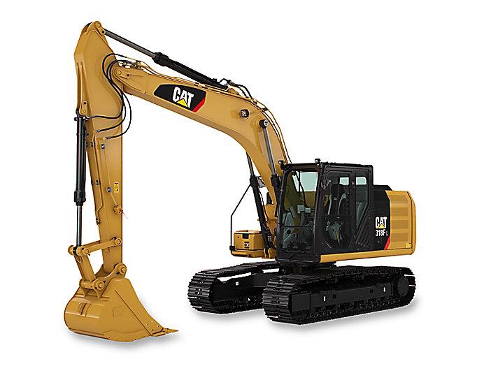 318F L Small Hydraulic Excavator