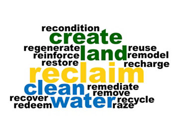 Reclamation Word Cloud