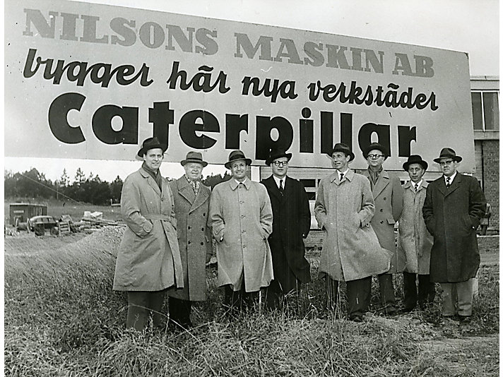 Caterpillar Dealer Sweden, ca. 1955.
