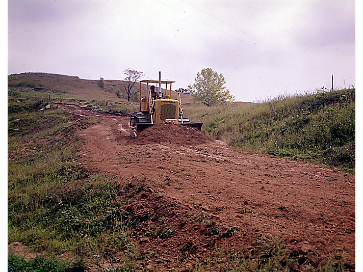 Caterpillar The History Of Cat D4 Dozer