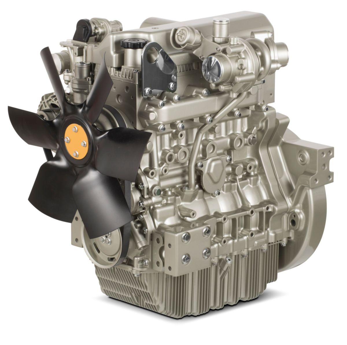 New Perkins® Syncro 2.8 liter engine on display at The Rental Show
