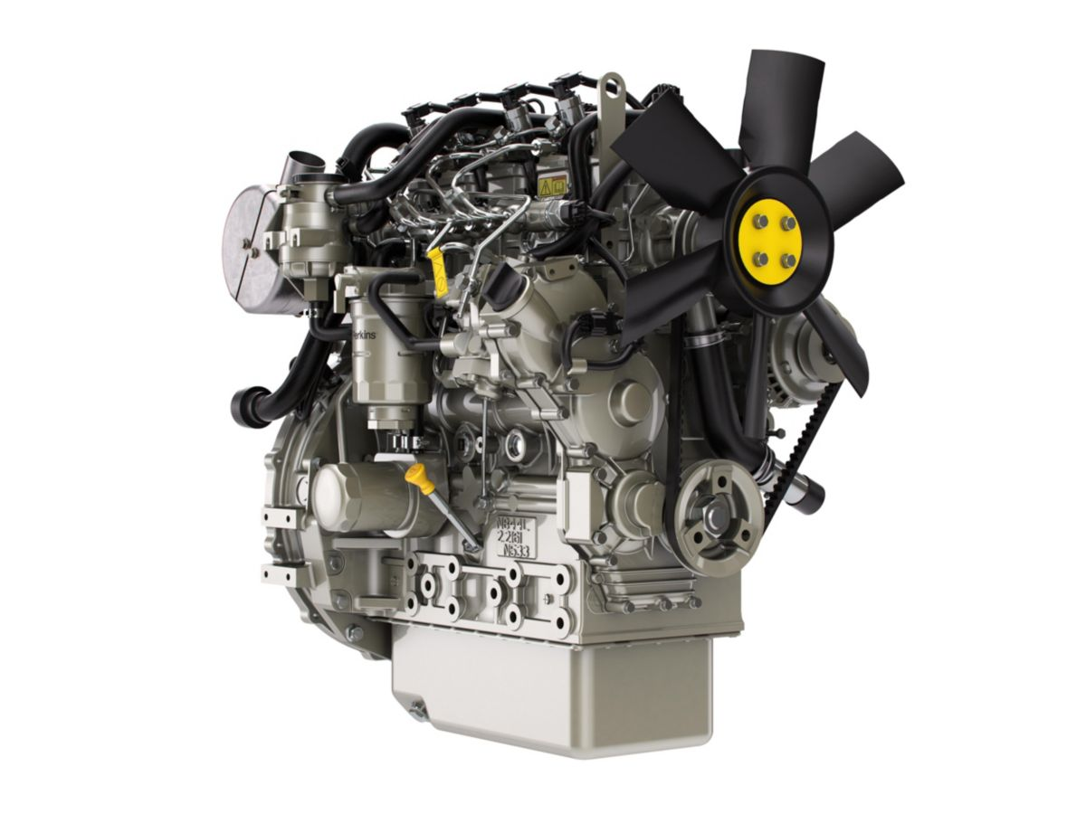 Perkins® Syncro 1.7 and 2.2 liter engines – tailor made for rental machines