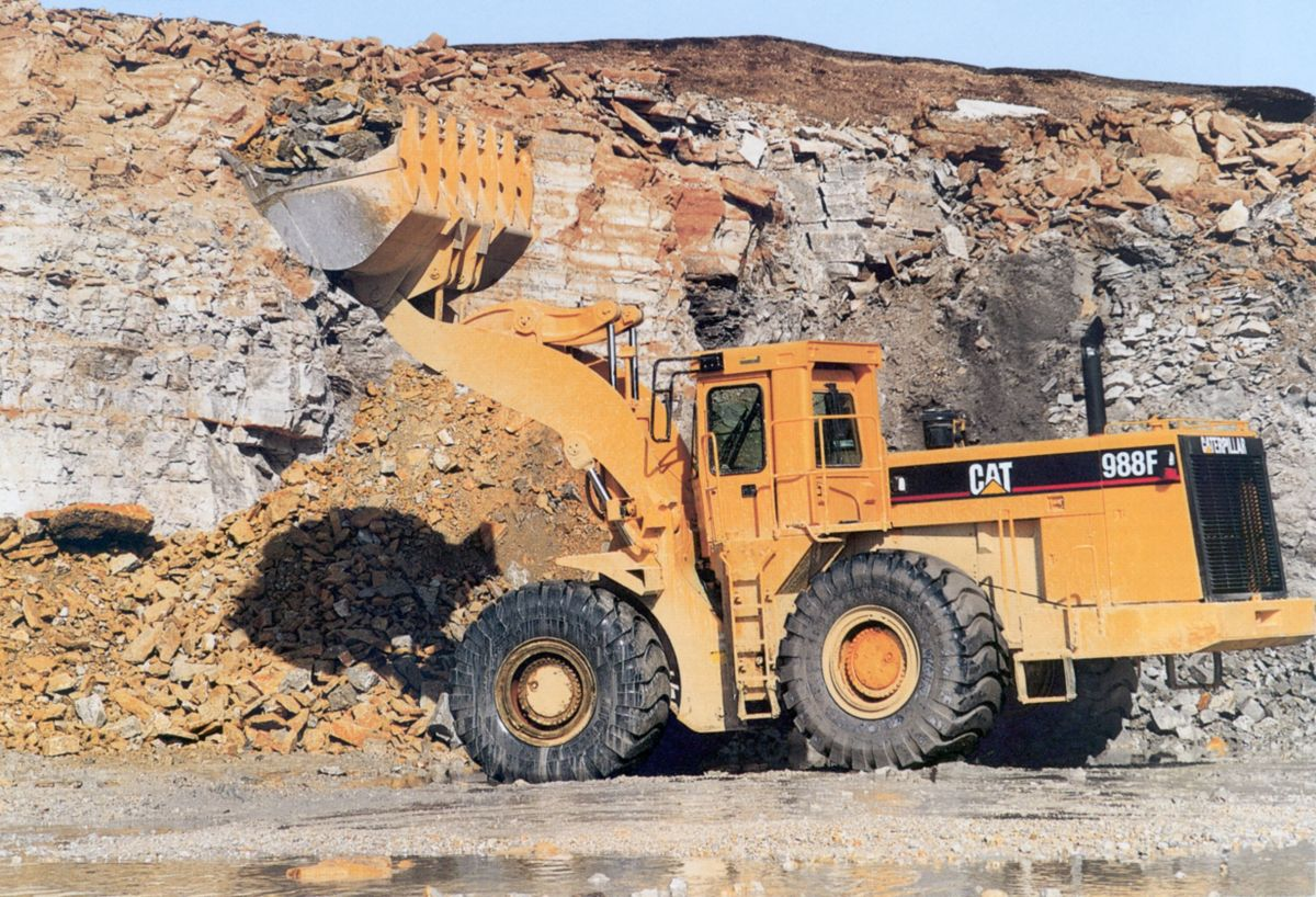 The 988F and 988F Series II were built from 1993-2000.
