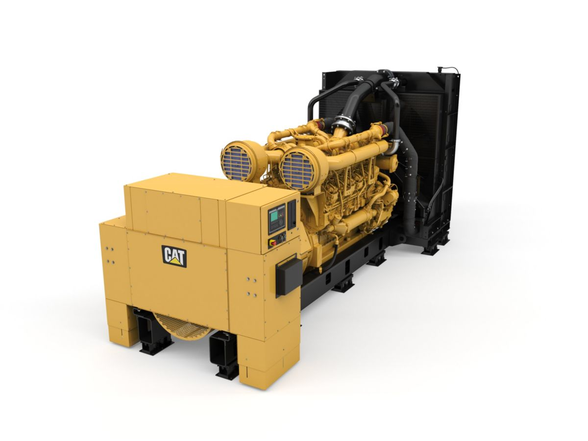 3512C Diesel Generator Set With Improved Power Density