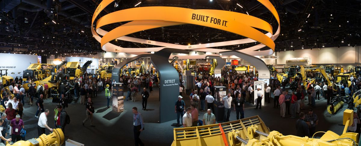 Caterpillar at ConExpo Con/Agg 2017