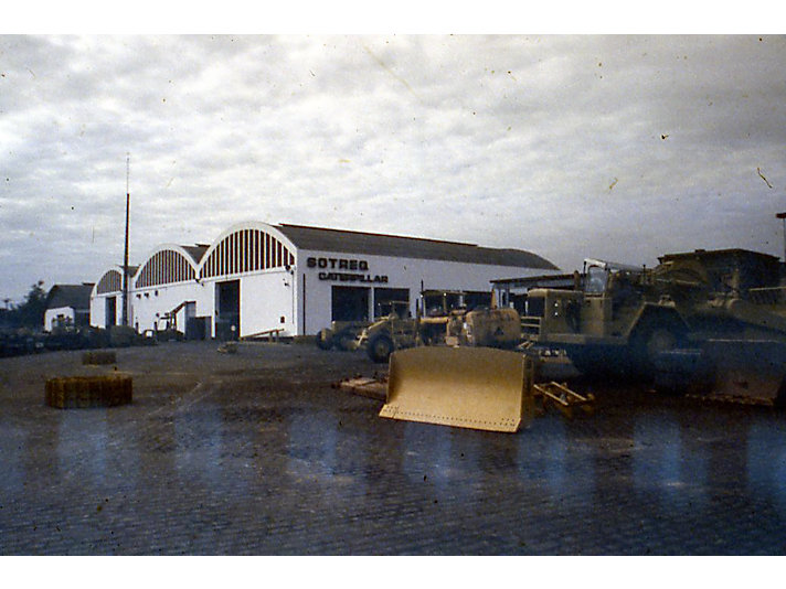 SOTREQ CAT dealer facility, ca. 1970