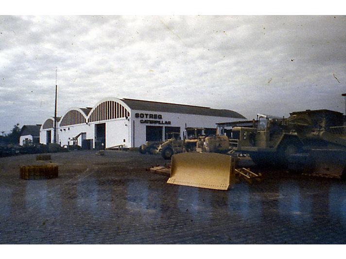 SOTREQ CAT dealer facility, ca. 1970