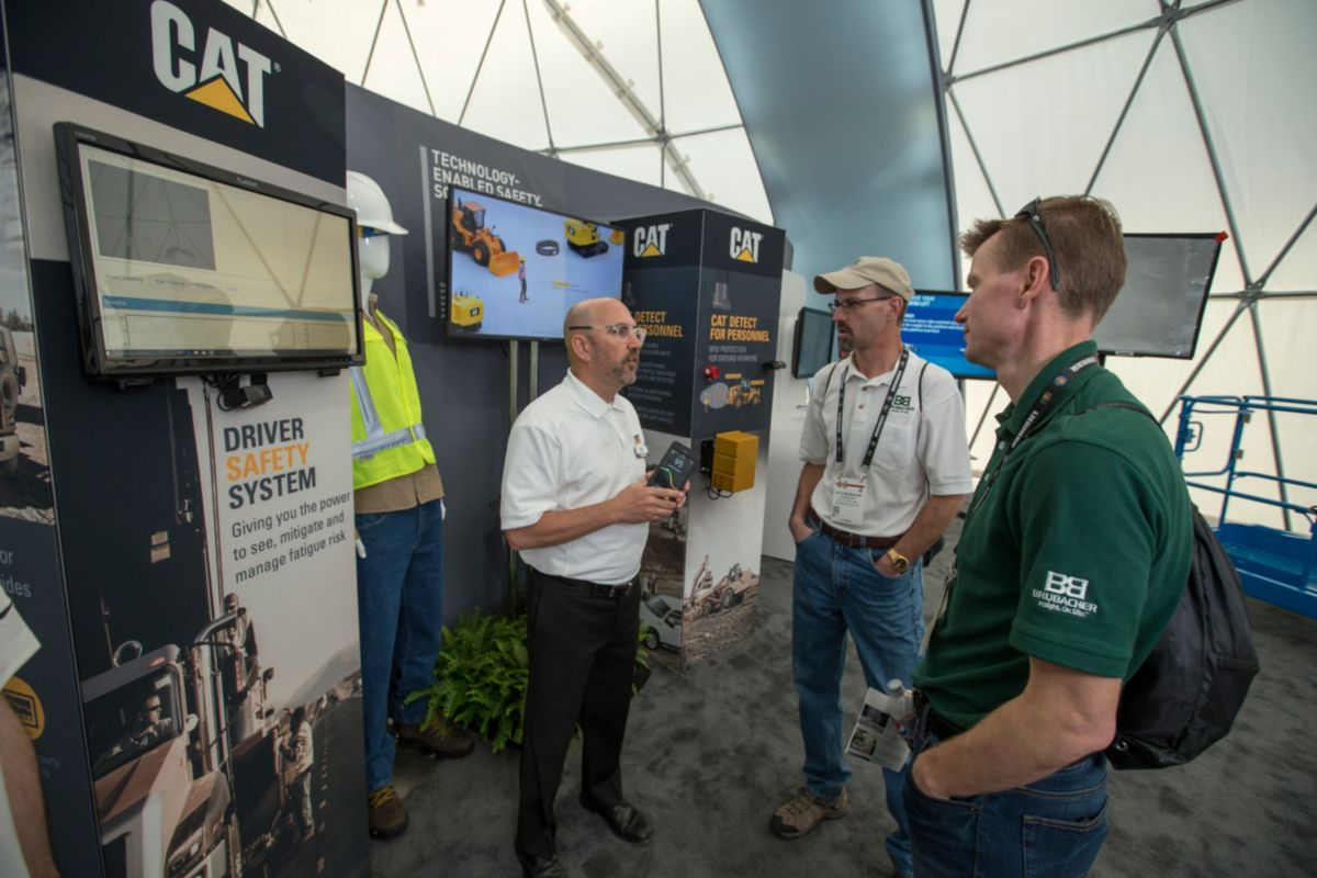 Cat Driver Safety System Puts Focus On Fatigue at CONEXPO