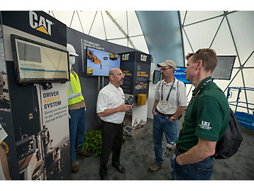 Cat® Driver Safety System Puts Focus On Fatigue at CONEXPO