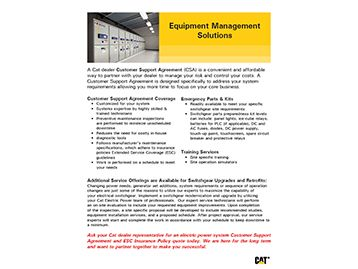 EQUIPMENT MANAGEMENT SOLUTIONS