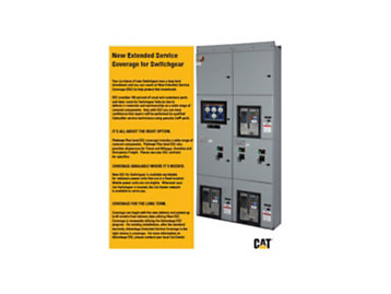 NEW EXTENDED SERVICE COVERAGE FOR SWITCHGEAR