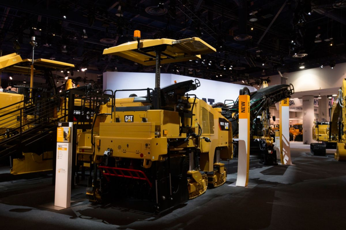 Cat® Cold Planers Showcased At CONEXPO 2017