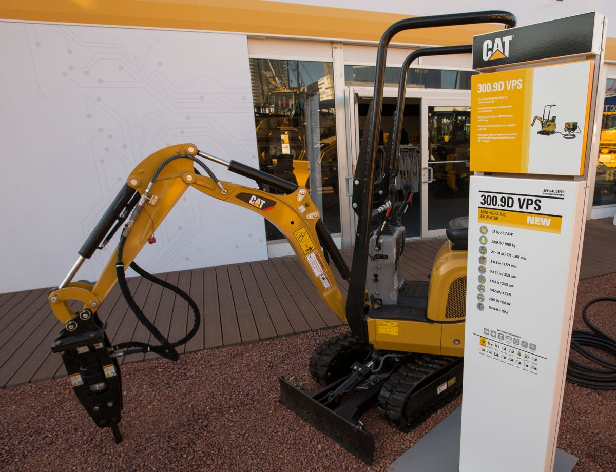 New Generation Mini Excavators Highlight Innovation at CONEXPO